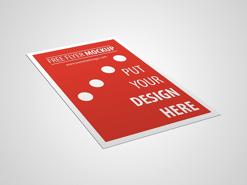 Free Flyer Mockup Pixsector