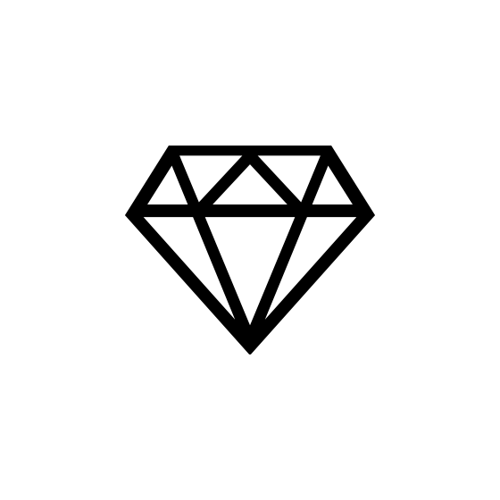 Free Diamond Icon Vector Png Pixsector