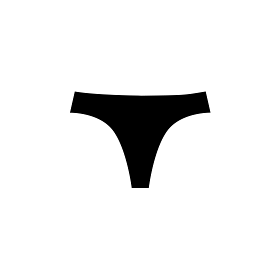 Free vector underwear icon - Pixsector